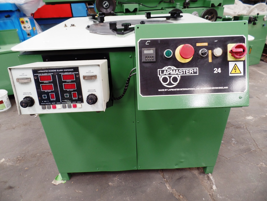 Lapmaster 24F lapping machine 24' table